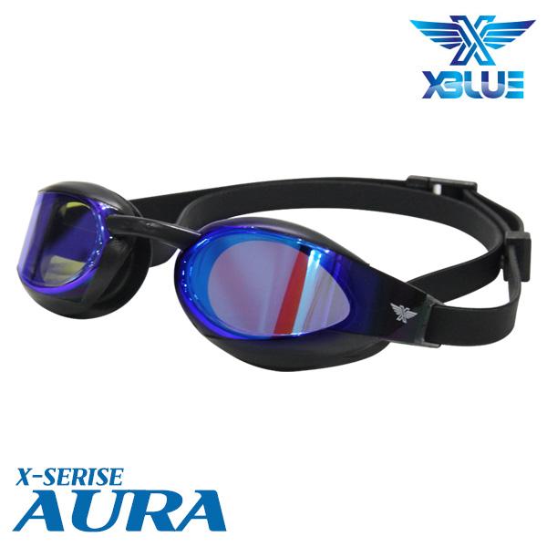 XBL-0401MR-BLSK 엑스블루 AURA 미러 패킹 수경