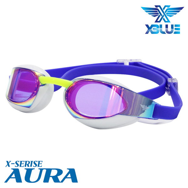XBL-0401MR-WHBU 엑스블루 AURA 미러 패킹 수경