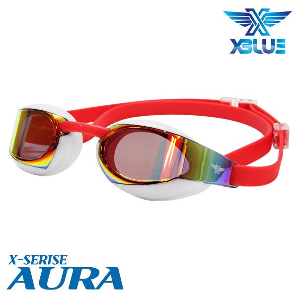 XBL-0401MR-WHRD 엑스블루 AURA 미러 패킹 수경