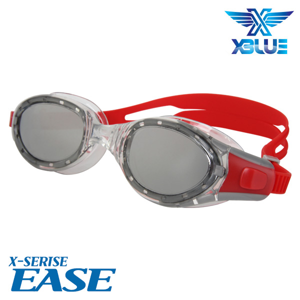XBL-0403MR-RED 엑스블루 EASE 미러 패킹 수경