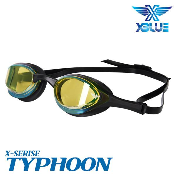 XBL-0404MR-BKGD 엑스블루 TYPHOON 미러 패킹 수경
