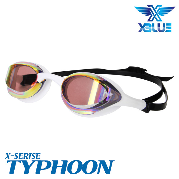 XBL-0404MR-WHRD 엑스블루 TYPHOON 미러 패킹 수경