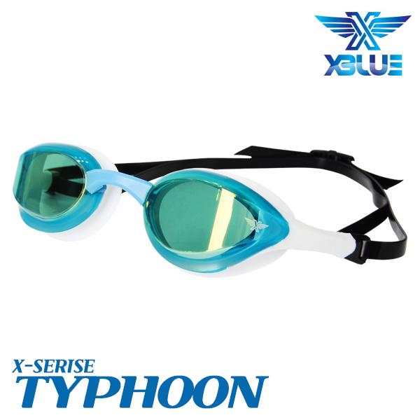 XBL-0404MR-WHTQ 엑스블루 TYPHOON 미러 패킹 수경
