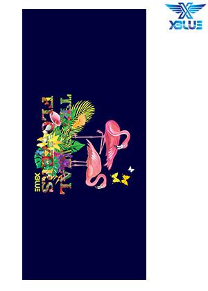 XBL-0500-TROPICAL FLOWERS-6 엑스블루 XBLUE 건식 타올 수영용품