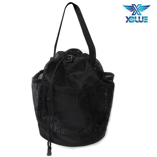 XBL-0900-BLK XBLUE 엑스블루 메쉬 토트백 가방