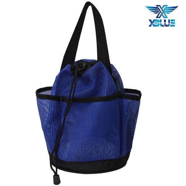 XBL-0900-BLU XBLUE 엑스블루 메쉬 토트백 가방