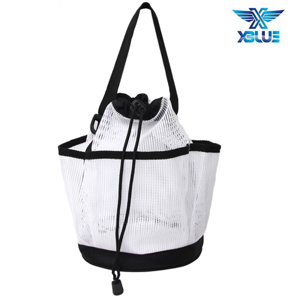 XBL-0900-WHT XBLUE 엑스블루 메쉬 토트백 가방
