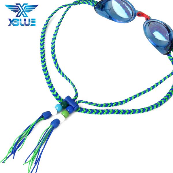 XBL-1502-1 엑스블루 플렛키 수제 수경끈 수경줄