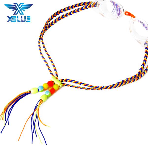 XBL-1502-3 엑스블루 플렛키 수제 수경끈 수경줄
