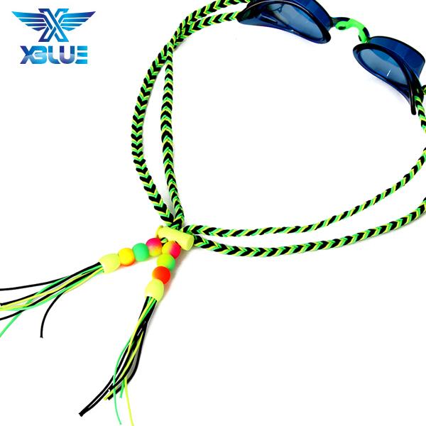 XBL-1502-4 엑스블루 플렛키 수제 수경끈 수경줄