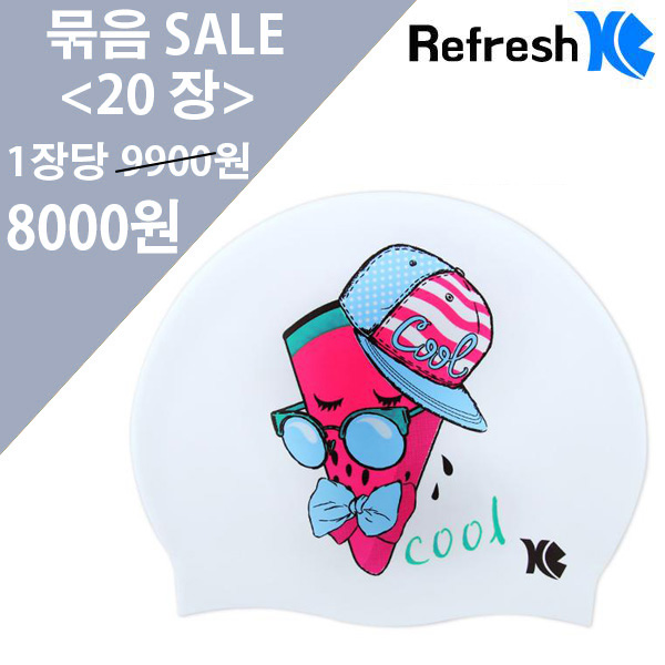 XBL-7208 WATERMELON (WHT) 20개 묶음 SALE 상품