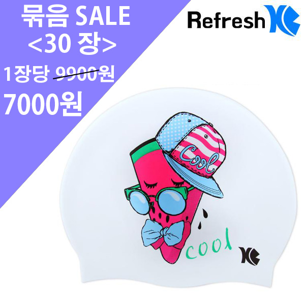 XBL-7208 WATERMELON (WHT) 30개 묶음 SALE 상품