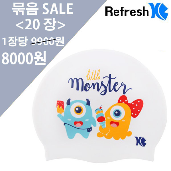 XBL-7213 WHITE MONSTER (WHT) 20개 묶음 SALE 상품