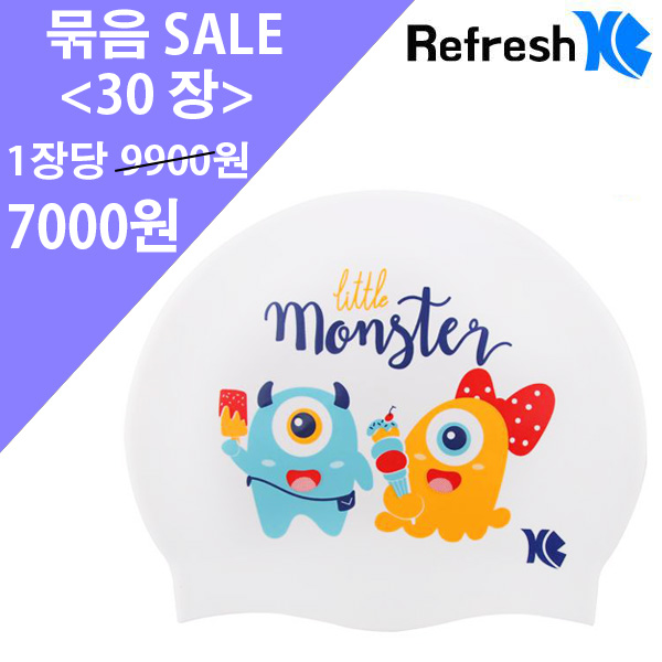 XBL-7213 WHITE MONSTER (WHT) 30개 묶음 SALE 상품