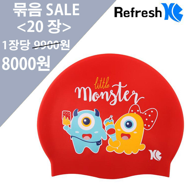 XBL-7214 RED MONSTER (RED) 20개 묶음 SALE 상품