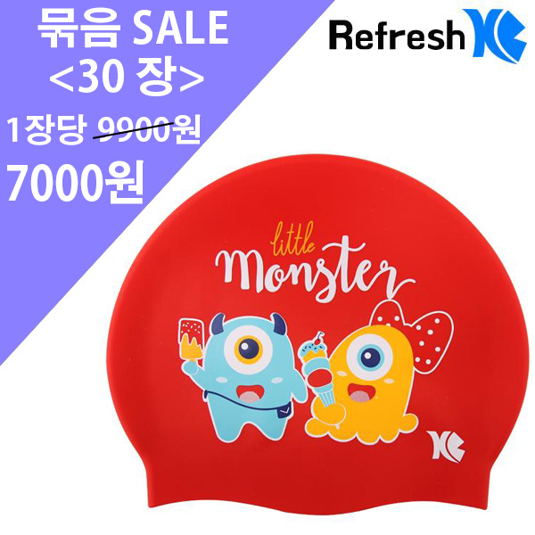 XBL-7214 RED MONSTER (RED) 30개 묶음 SALE 상품