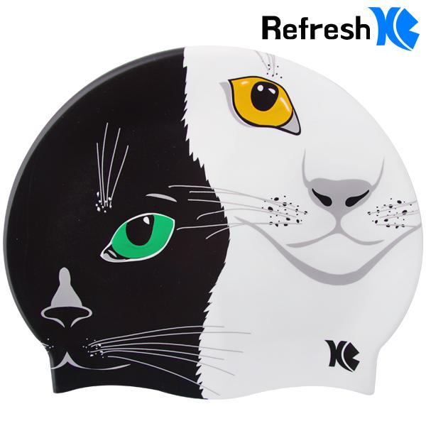 XBL-7220 THE CATS 더 캣츠 실리콘 수모 수영모