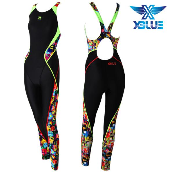 XBL-8025 (4) 엑스블루 XBLUE 여성 전신 수영복