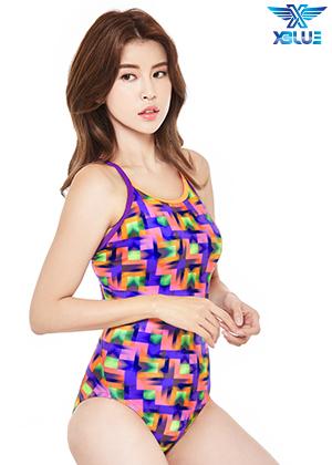 XBL-8047-10 엑스블루 XBLUE 원피스 탄탄이 수영복