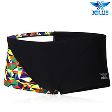 XBL-8102-5 엑스블루 XBLUE 숏사각 탄탄이 수영복