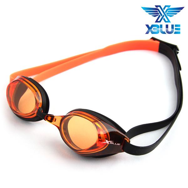 XBL-8400N-ORANGE 엑스블루 노미러렌즈 패킹 수경