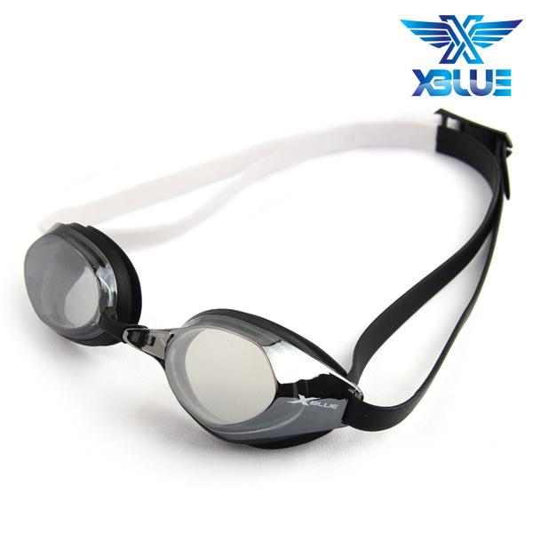 XBL-8401MR-BLACK 엑스블루 미러렌즈 패킹 수경