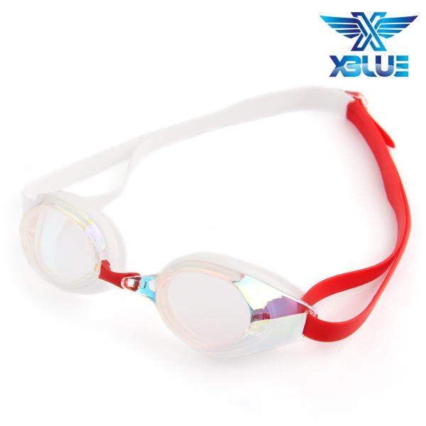 XBL-8401MR-CLEAR 엑스블루 미러렌즈 패킹 수경