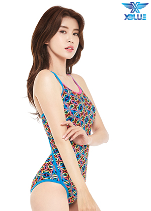 XBL-9000-10 엑스블루 XBLUE 원피스 탄탄이 수영복