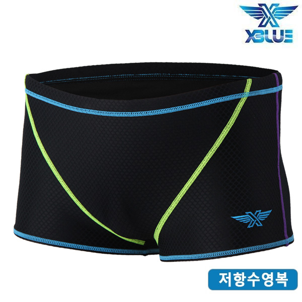 XBL-9101-BKBL 엑스블루 XBLUE 훈련용 저항 수영복