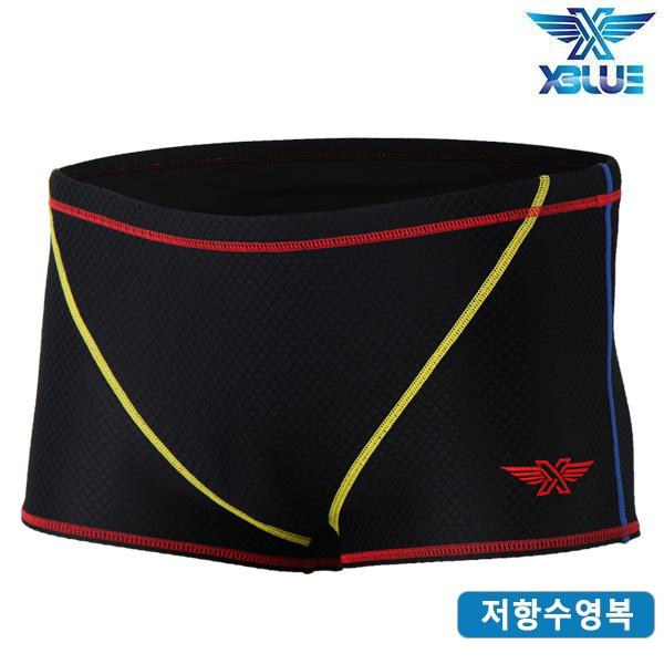 XBL-9101-BKRE 엑스블루 XBLUE 훈련용 저항 수영복