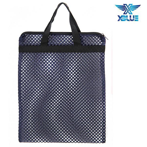 망사가방大-곤색 엑스블루 XBLUE 수영용품