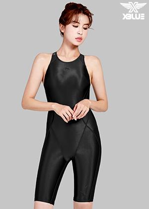 XWX-7003-BLK 엑스블루 여성용 반전신 수영복