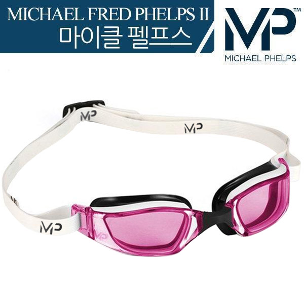 XCEED Pink Lens-WHTPNK MP 마이클 펠프스 수경 여성용