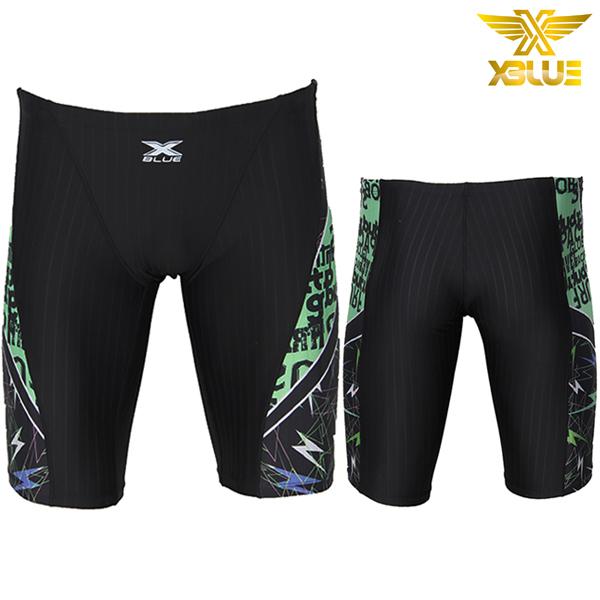 XMQ-4106-BKGN 엑스블루 5부 수영복