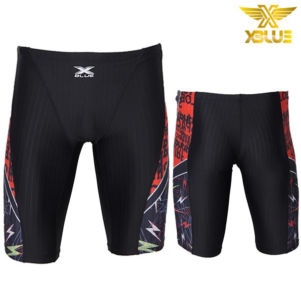 XMQ-4106-BKOR 엑스블루 5부 수영복