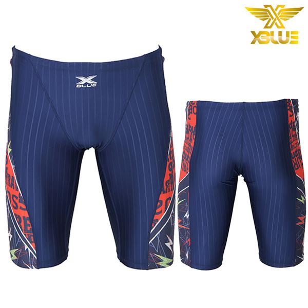 XMQ-4106-NVOR 엑스블루 5부 수영복