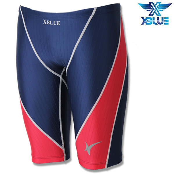 XMQ-6901-NRED 엑스블루 XBLUE 남성 5부 수영복
