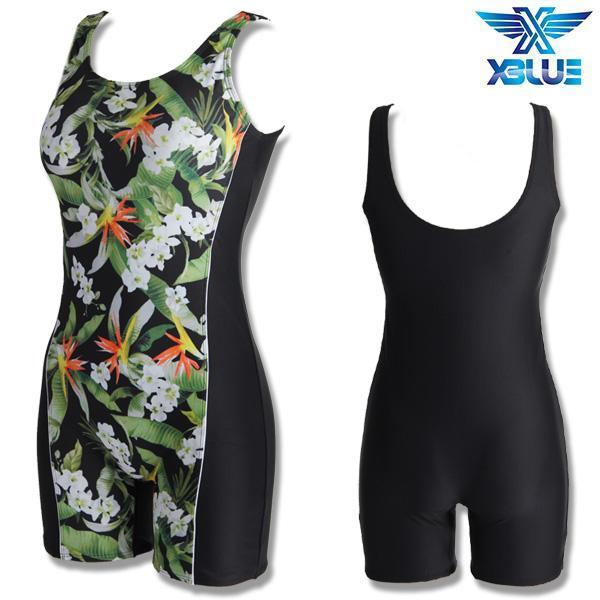 XWU-8300-10 엑스블루 여성 1부 아쿠아복 수영복
