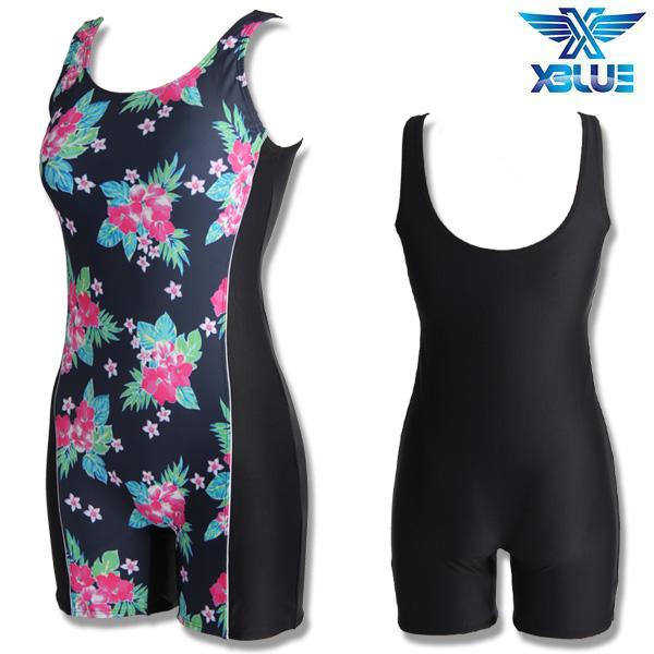 XWU-8300-9 엑스블루 여성 1부 아쿠아복 수영복