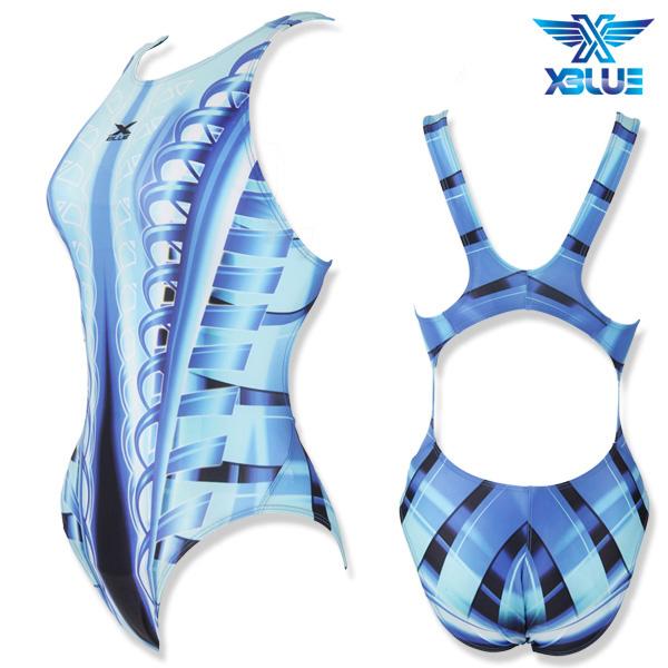 XWX-2068-BLU 엑스블루 XBLUE 원피스 수영복