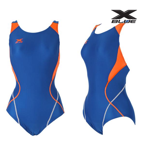 XWX-5020 (BLOR) 엑스블루 주니어 원피스 수영복