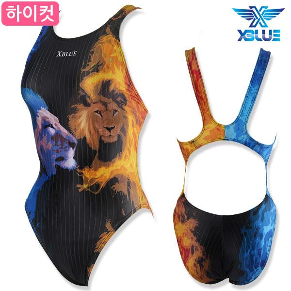 XWX-6511WH 엑스블루 XBLUE 하이컷 원피스 수영복