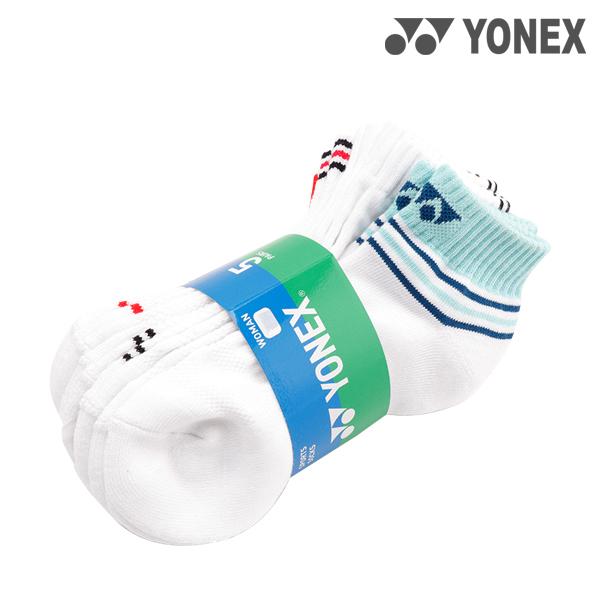 99SN028F 요넥스 YONEX 여자 스포츠양말5입세트