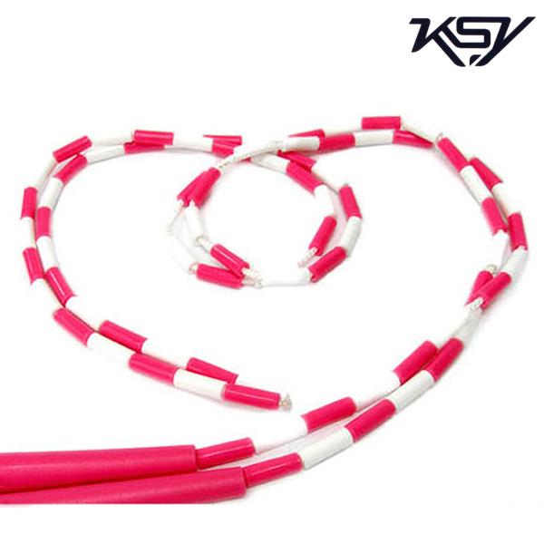 K-710-PINK 김수열 어린이용 느낌표 색동 줄넘기