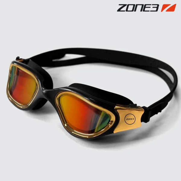 ZONE3 VAPOUR 오픈워터 편광렌즈 BLK-MTL GLD 수경
