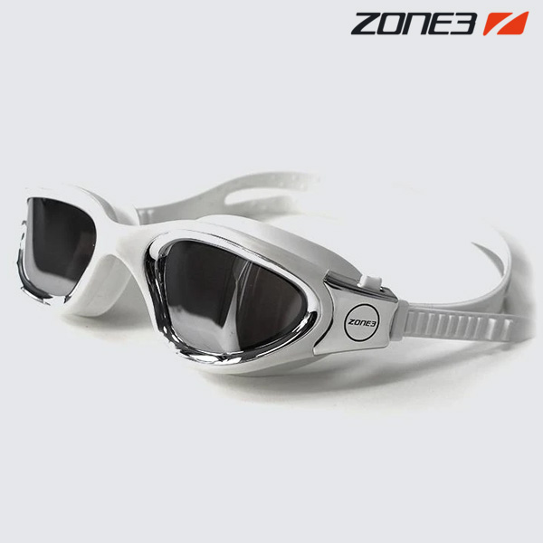 ZONE3 VAPOUR 오픈워터 편광렌즈 WHT-MTL SVR 수경