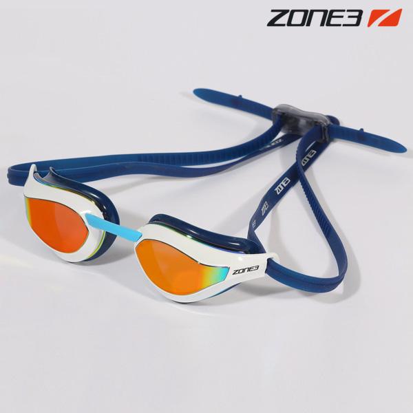 ZONE3 VIPER SPEED 오픈워터 편광렌즈 NVY-WHT 수경