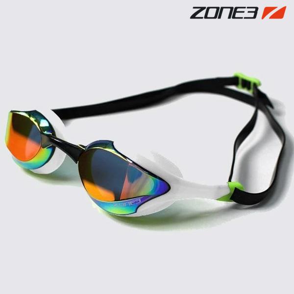 ZONE3 VOLARE 오픈워터 편광렌즈 WHT-LIM-BLK 수경