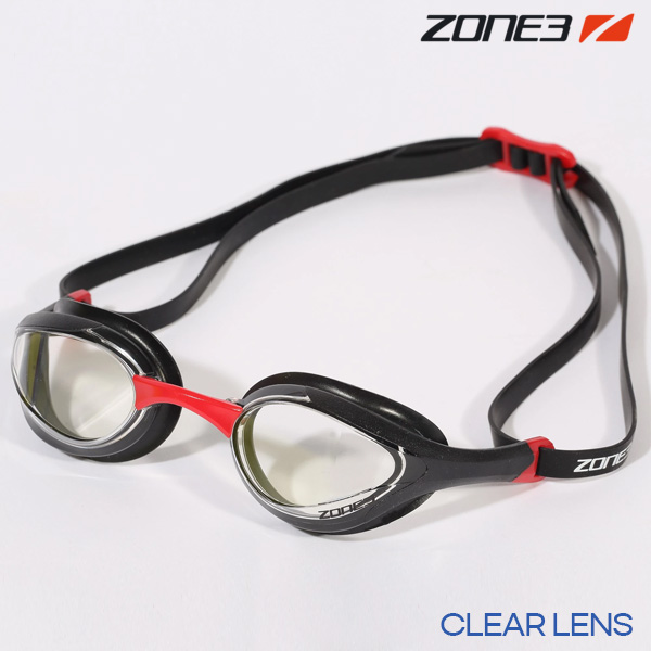 ZONE3 VOLARE 오픈워터 편광렌즈 BLK-RED(CLEAR) 수경