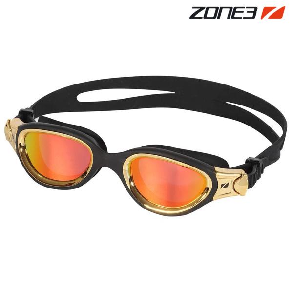 ZONE3 VENATOR-X 오픈워터 편광렌즈 BLK-MTL GLD 수경